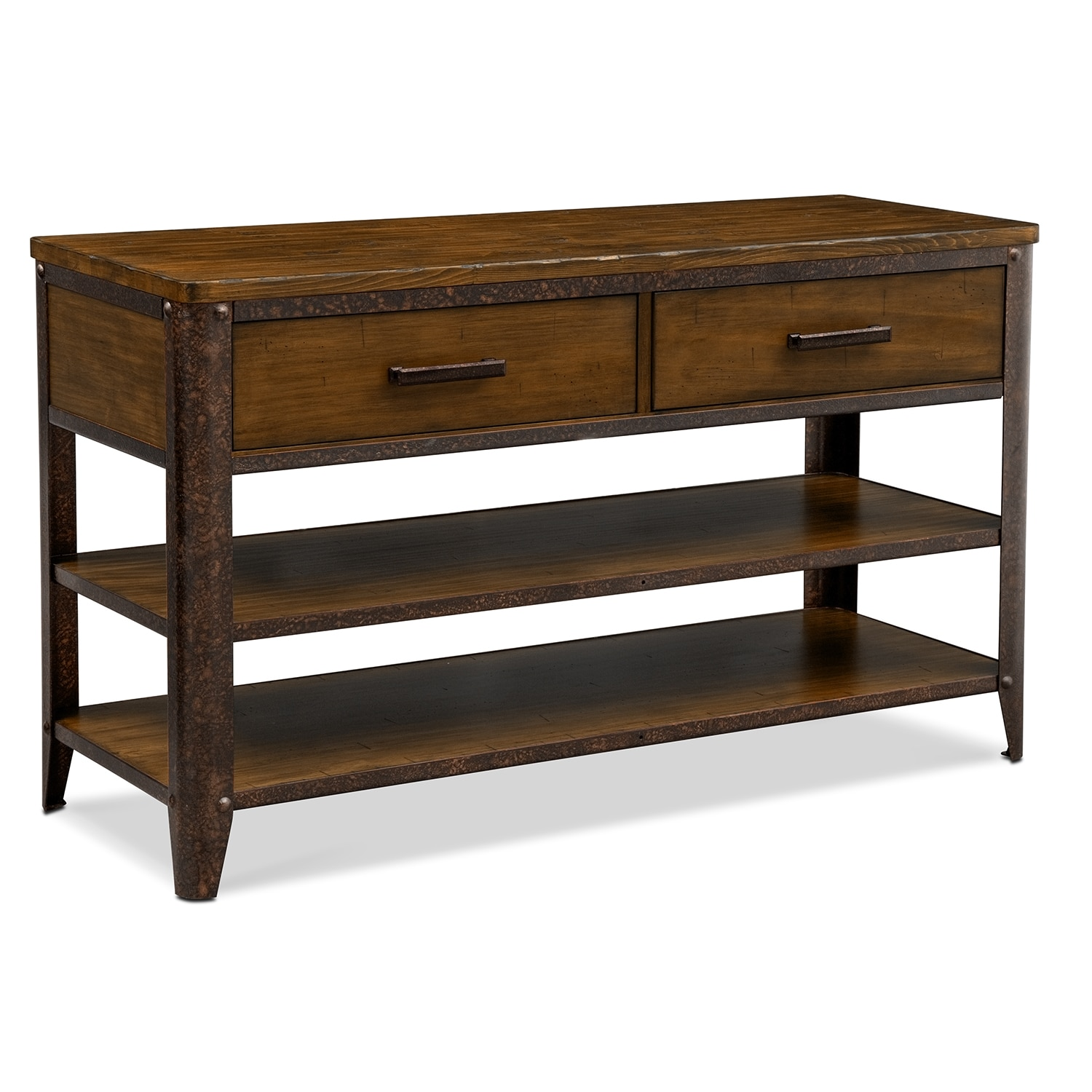 Shortline Sofa Table - Distressed Pine
