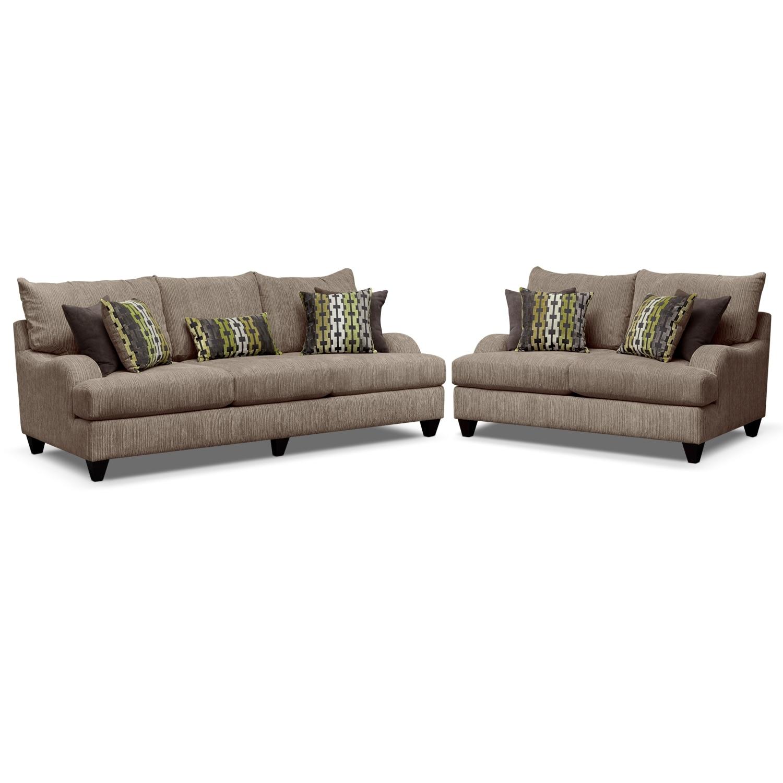 Living Room Furniture - Santa Monica 2 Pc. Living Room