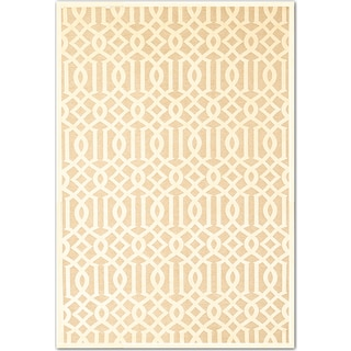Napa Baron 5' x 8' Area Rug - Ivory and Beige