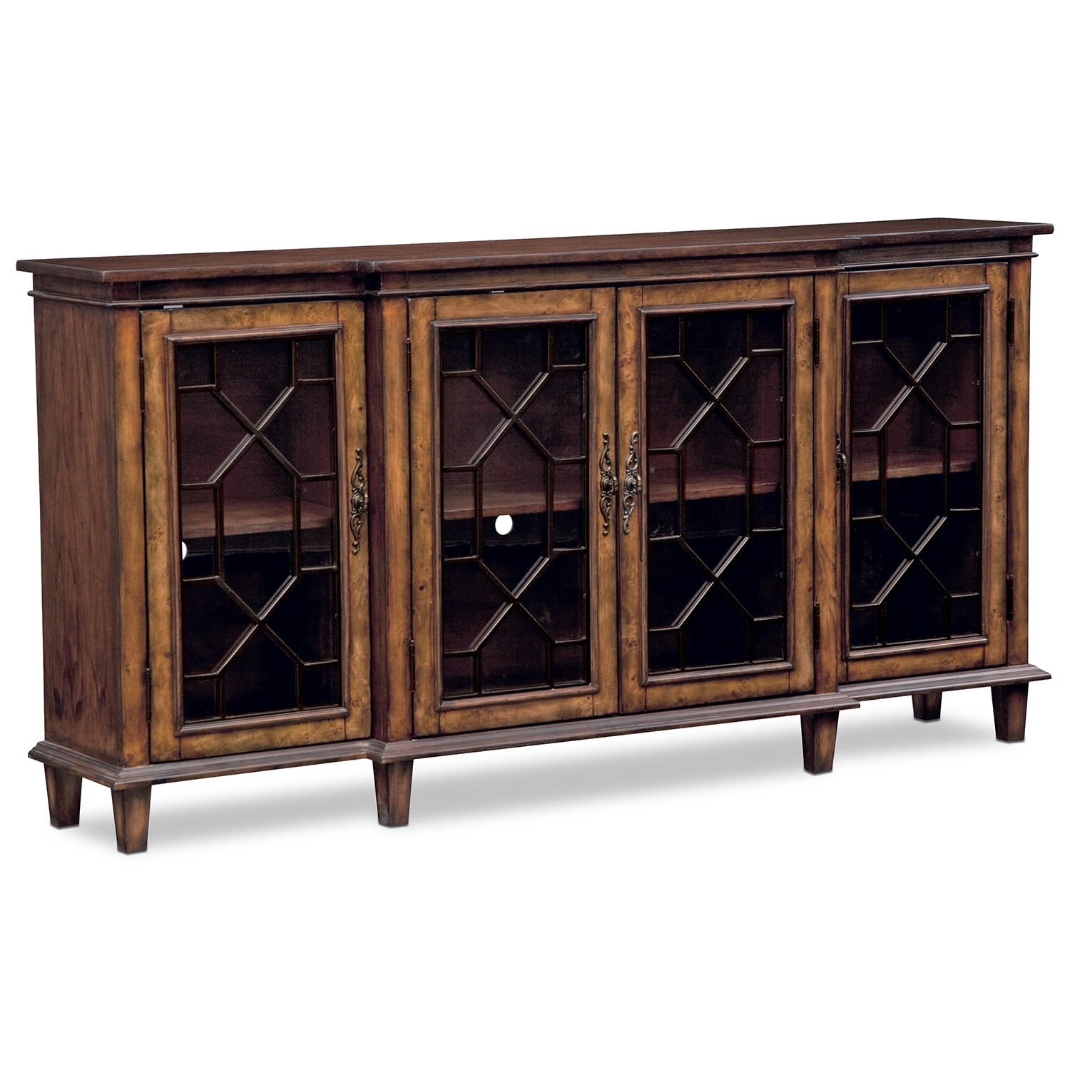 Accent and Occasional Furniture - Bordeaux Media Credenza