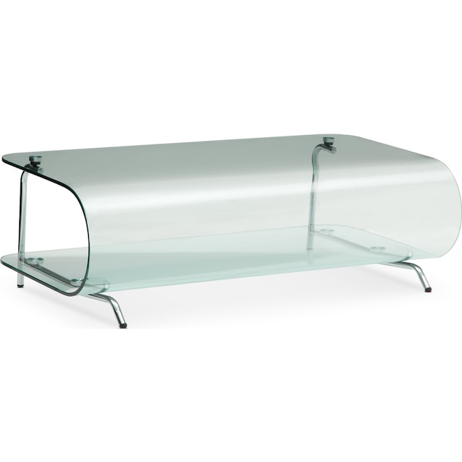 Accent and Occasional Furniture - Viva Cocktail Table - Glass