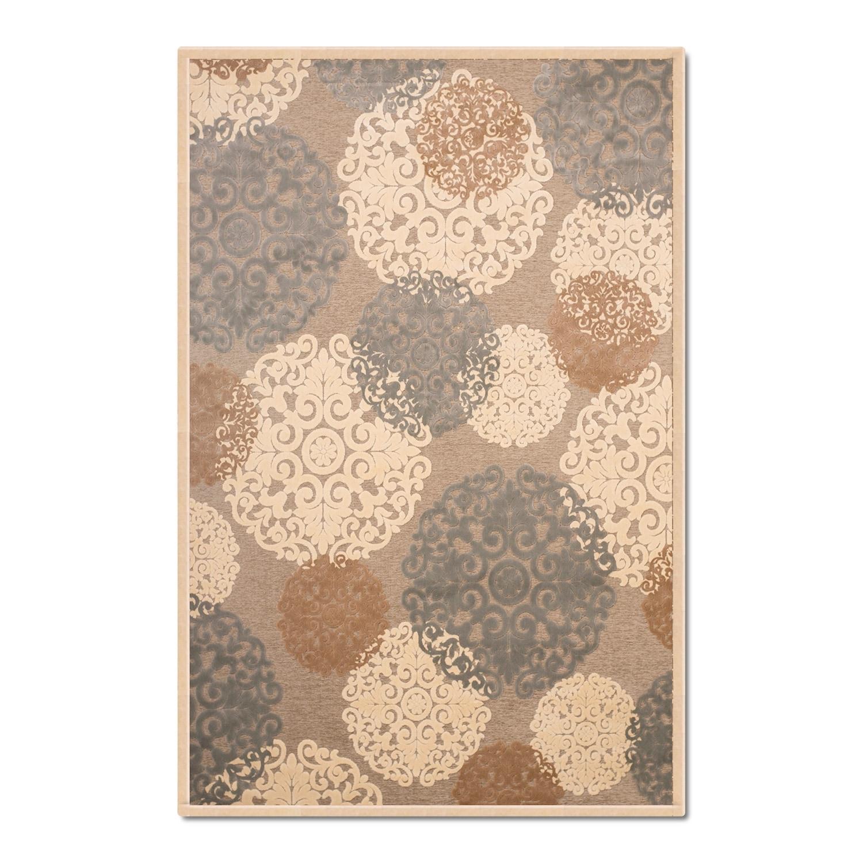 Rugs - Napa Light Snowflakes Area Rug (8' x 10')