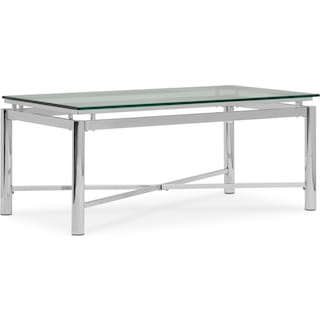 Nova Cocktail Table - Silver