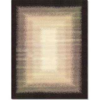 Casa Fade 5' x 8' Area Rug - Gray and Ivory