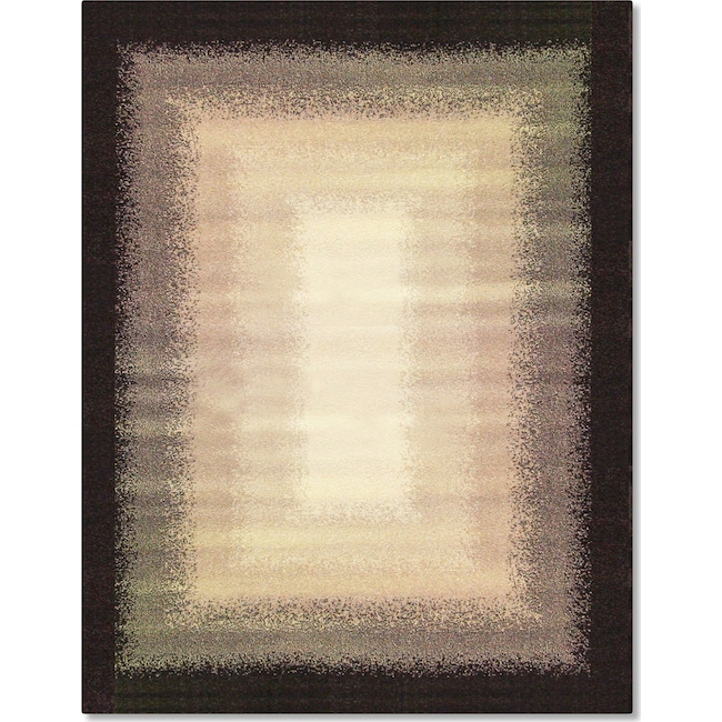 Rugs - Casa Fade 5' x 8' Area Rug - Gray and Ivory