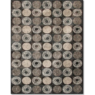 Sonoma Laurel 5' x 8' Area Rug - Gray and Ivory