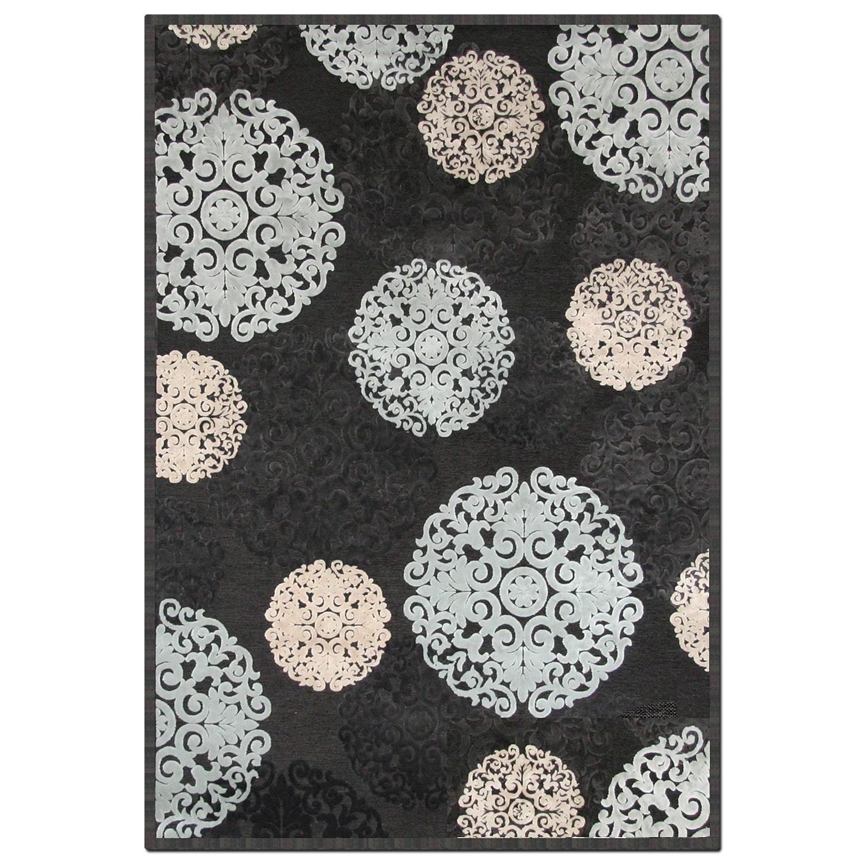 Napa Snowflakes 5'x8' Area Rug