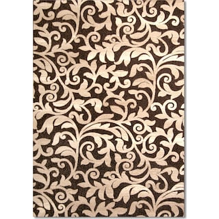 Terra Vale 8' x 10' Area Rug - Chocolate and Beige