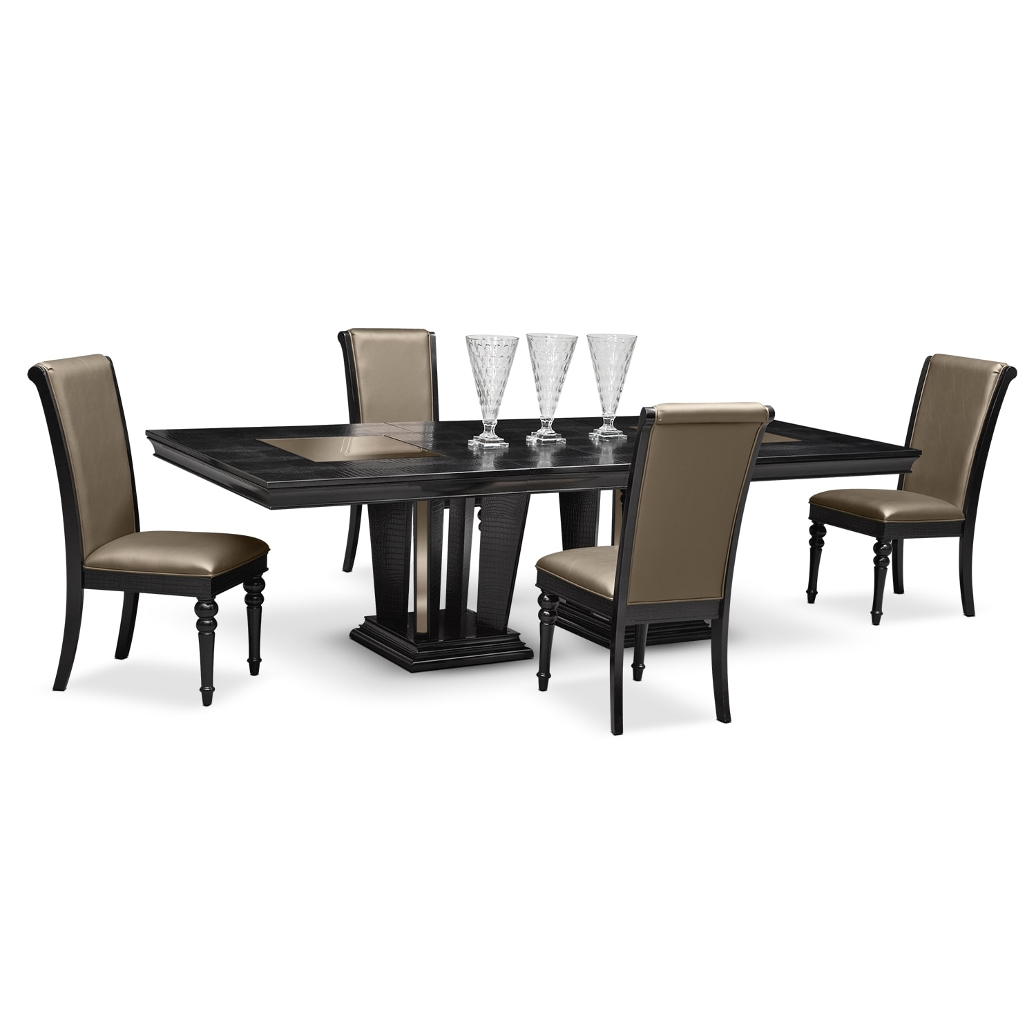 Dining Room Furniture - Paradiso 5 Pc. Dinette