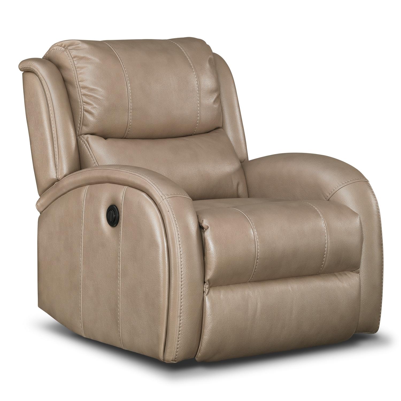 Living Room Furniture - Corsica Dual-Power Recliner
