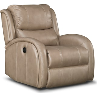 Corsica Power Recliner - Taupe
