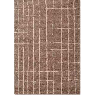 Granada Camille 5' x 8' Area Rug - Brown and Ivory