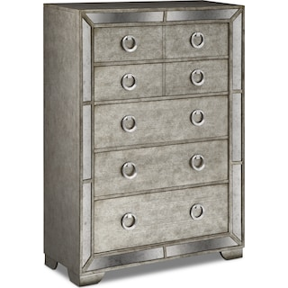 Angelina Chest - Metallic