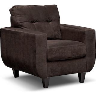 West Village Chair - Chocolate