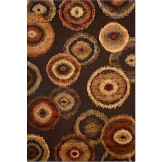 Sonoma Adeline 5' x 8' Area Rug - Medium Brown and Beige