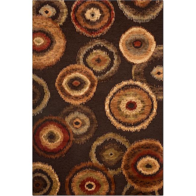 Rugs - Sonoma Adeline 8' x 10' Area Rug - Medium Brown and Beige