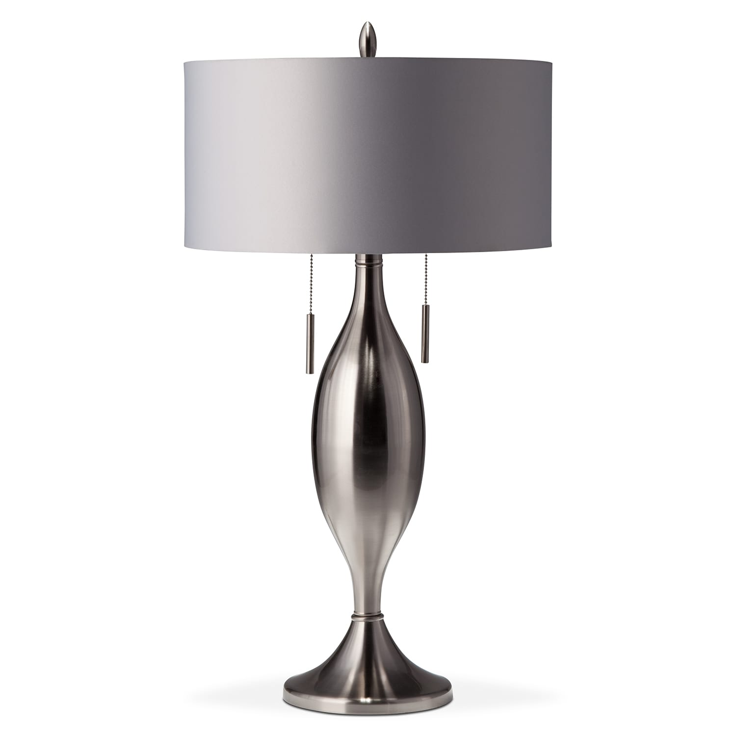 Home Accessories - Silver Tassel Table Lamp