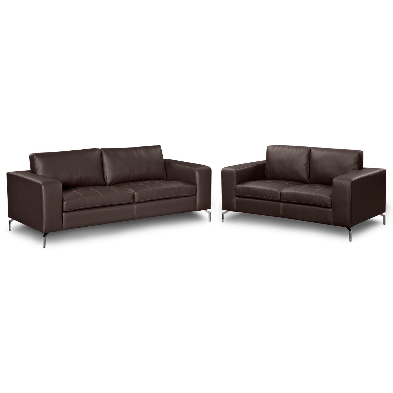Living Room Furniture - Casino III 2 Pc. Living Room