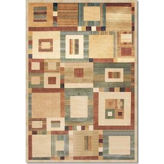 Sonoma Ardyce 8' x 10' Area Rug - Rust and Beige