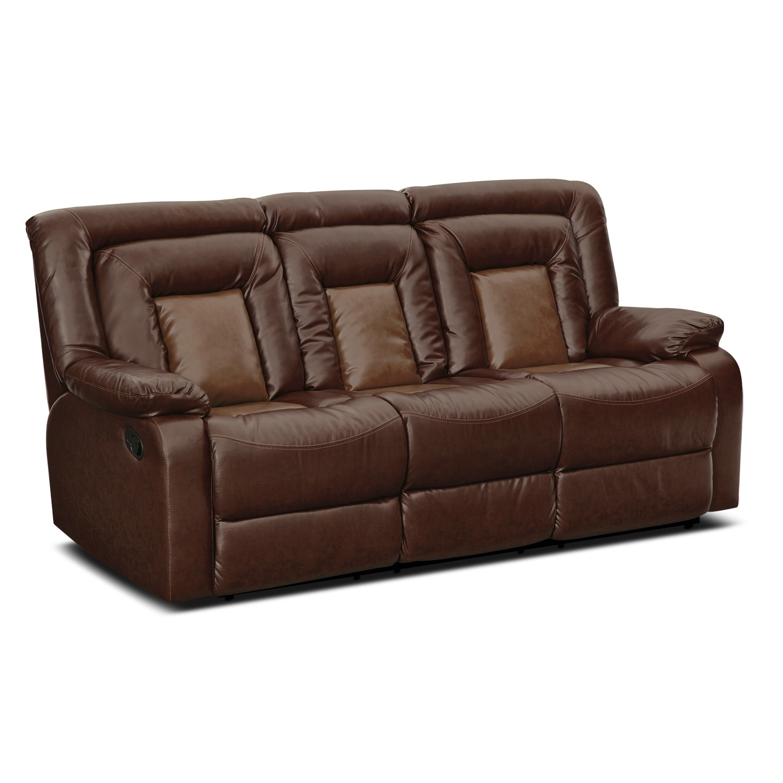 Living Room Furniture - Cobra Dual Reclining Sofa
