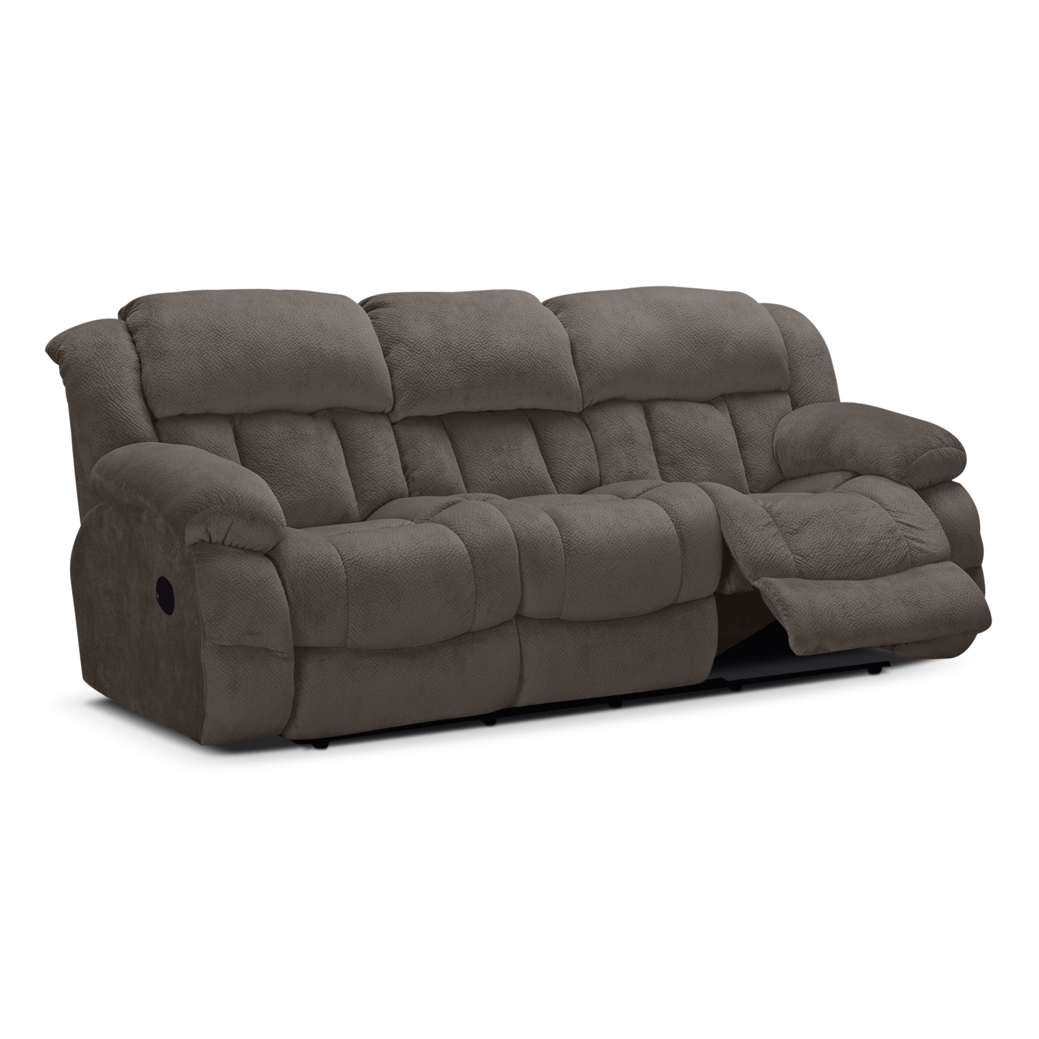 Click to change image.  sc 1 st  American Signature Furniture & Park City Dual Reclining Sofa - Gray | American Signature Furniture islam-shia.org