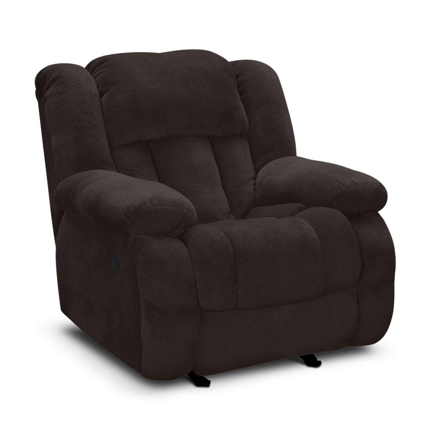 Living Room Furniture - Park City III Glider Recliner