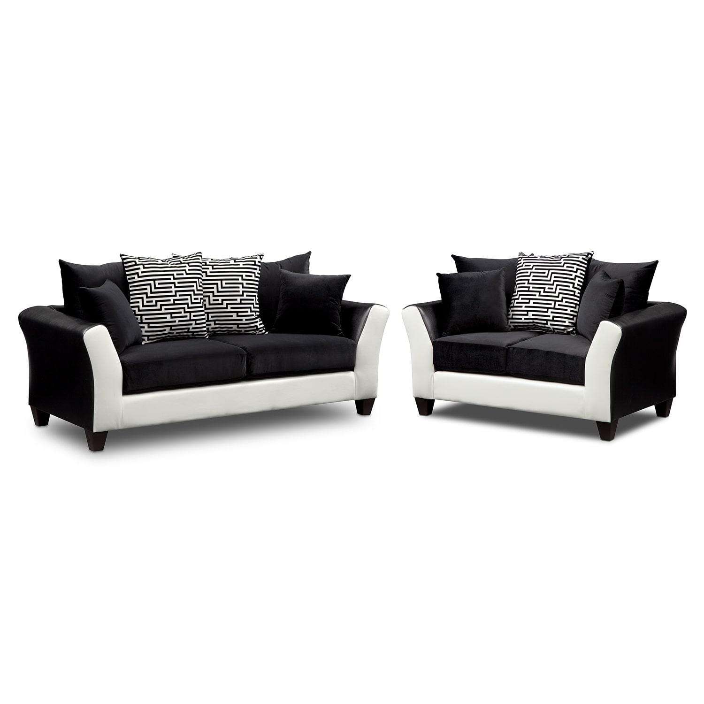 Mistic floor lamp american signature furniture for Living room jazz