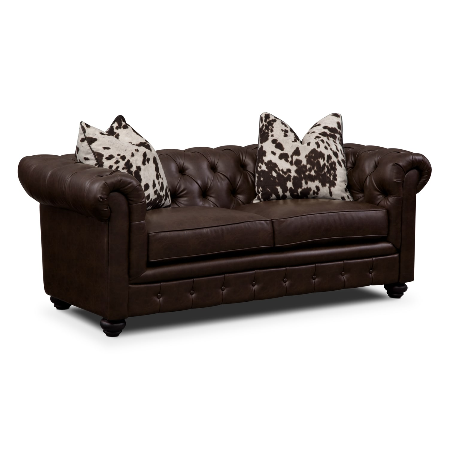 Madeline Chocolate Apartment Sofa