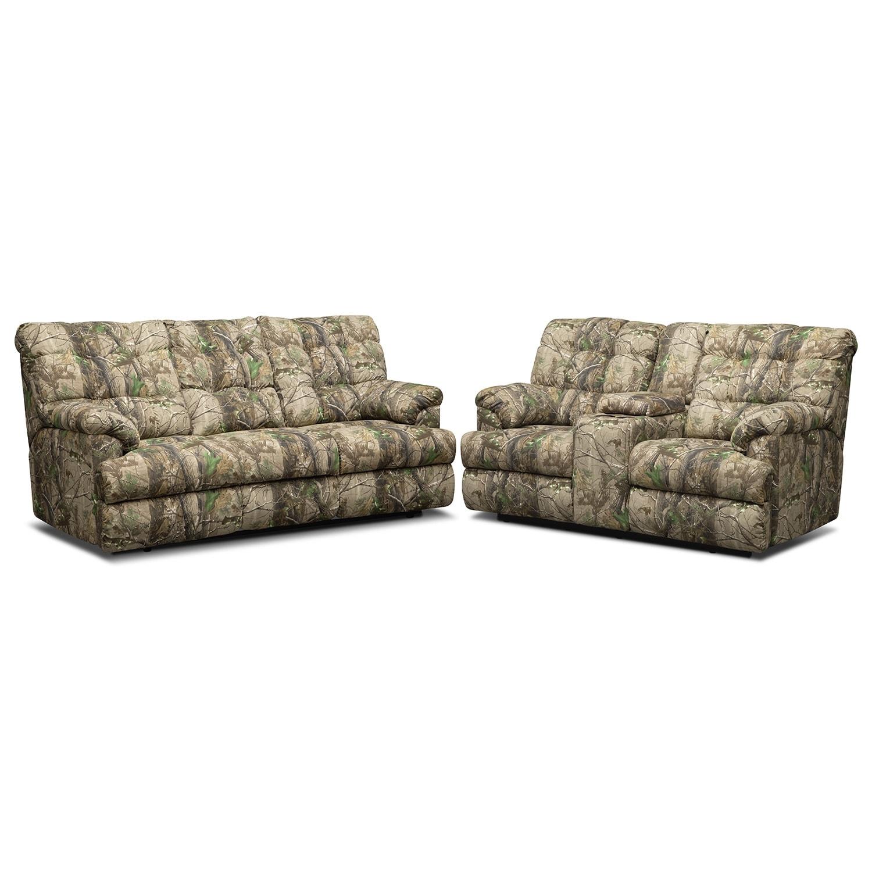 Living Room Furniture - Jasper Bay 2 Pc. Reclining Living Room
