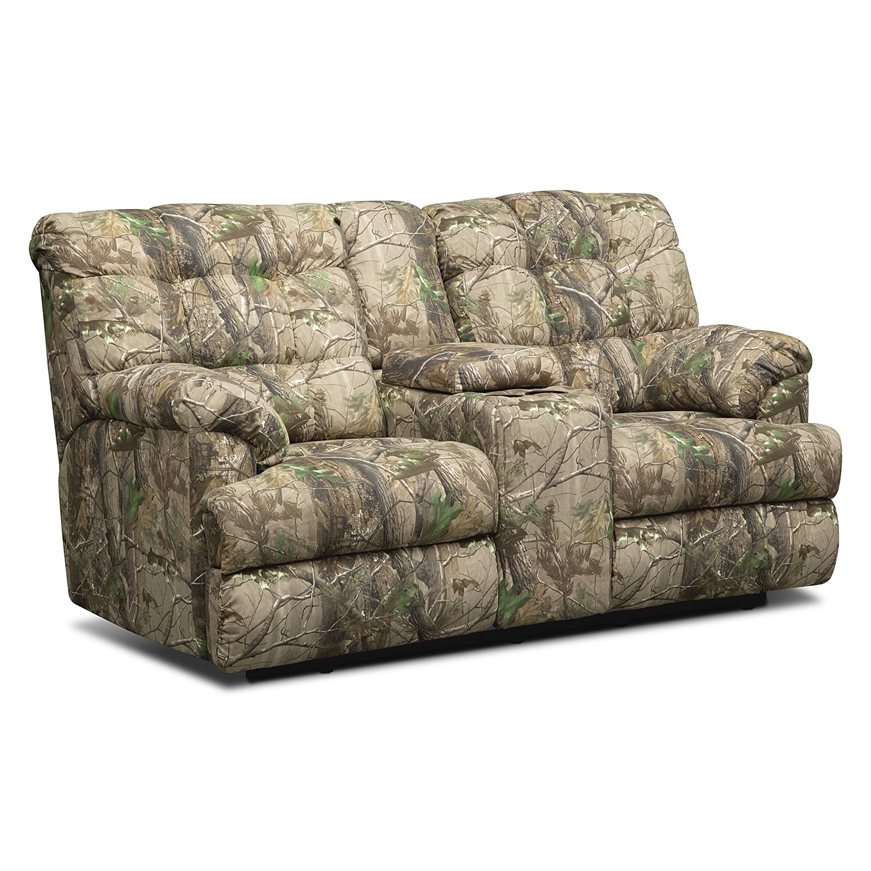 Living Room Furniture - Jasper Bay Dual Reclining Loveseat