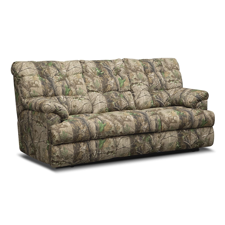 Living Room Furniture - Jasper Bay Dual Reclining Sofa