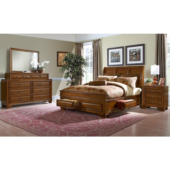 The Sanibelle Collection - Pine | American Signature Furniture
