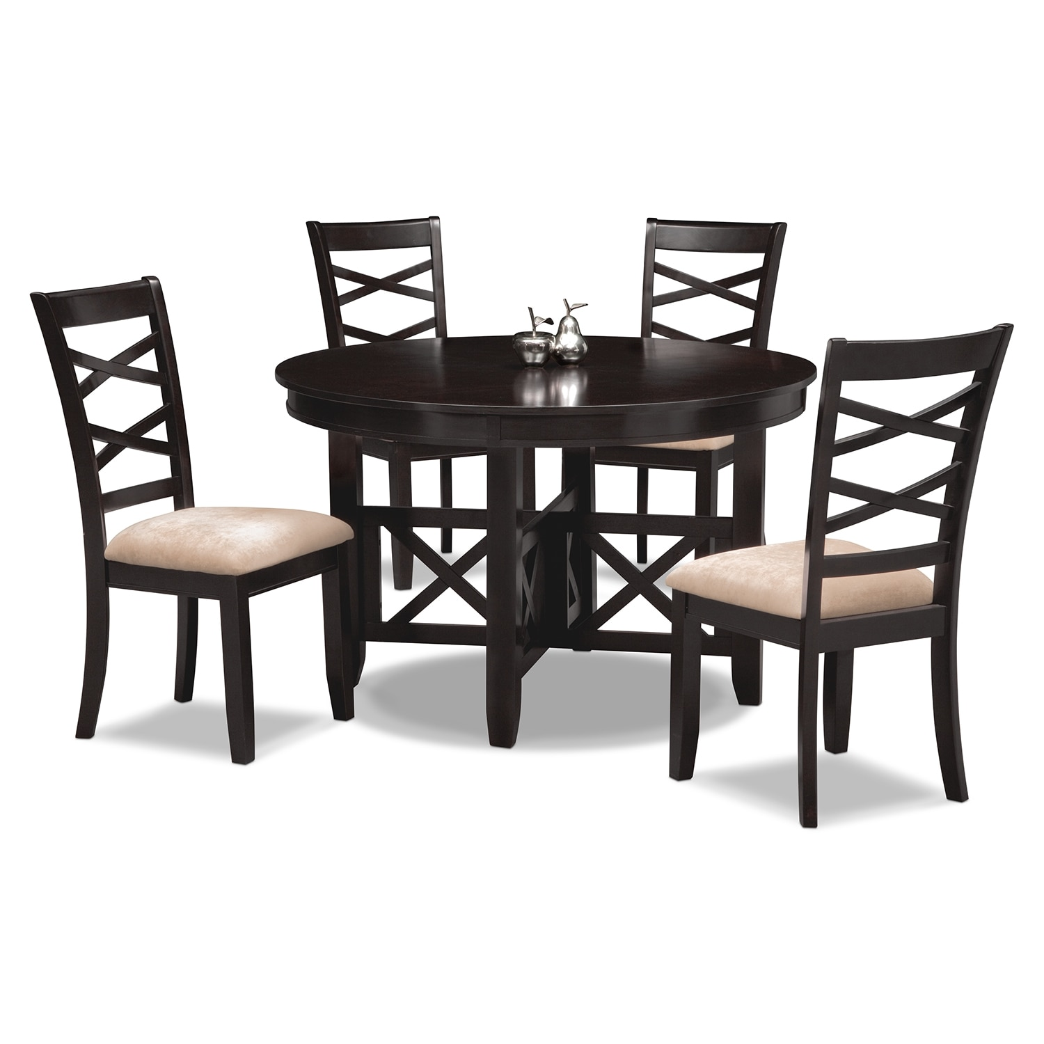 Dining Room Furniture - Americana Espresso 5 Pc. Dinette