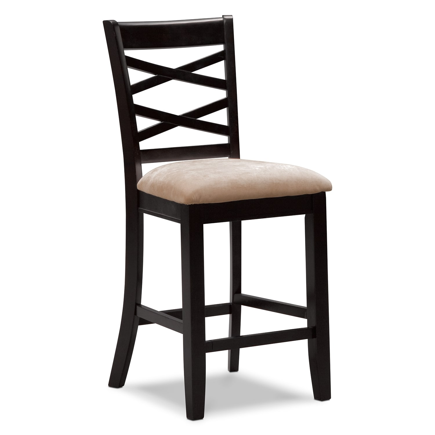 Americana Espresso Counter-Height Stool