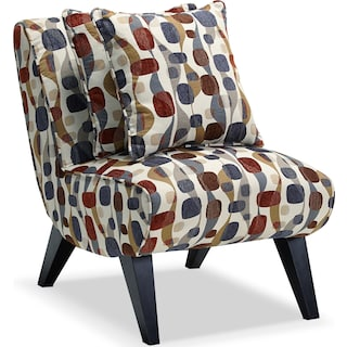 Adrian Accent Chair - Geometric