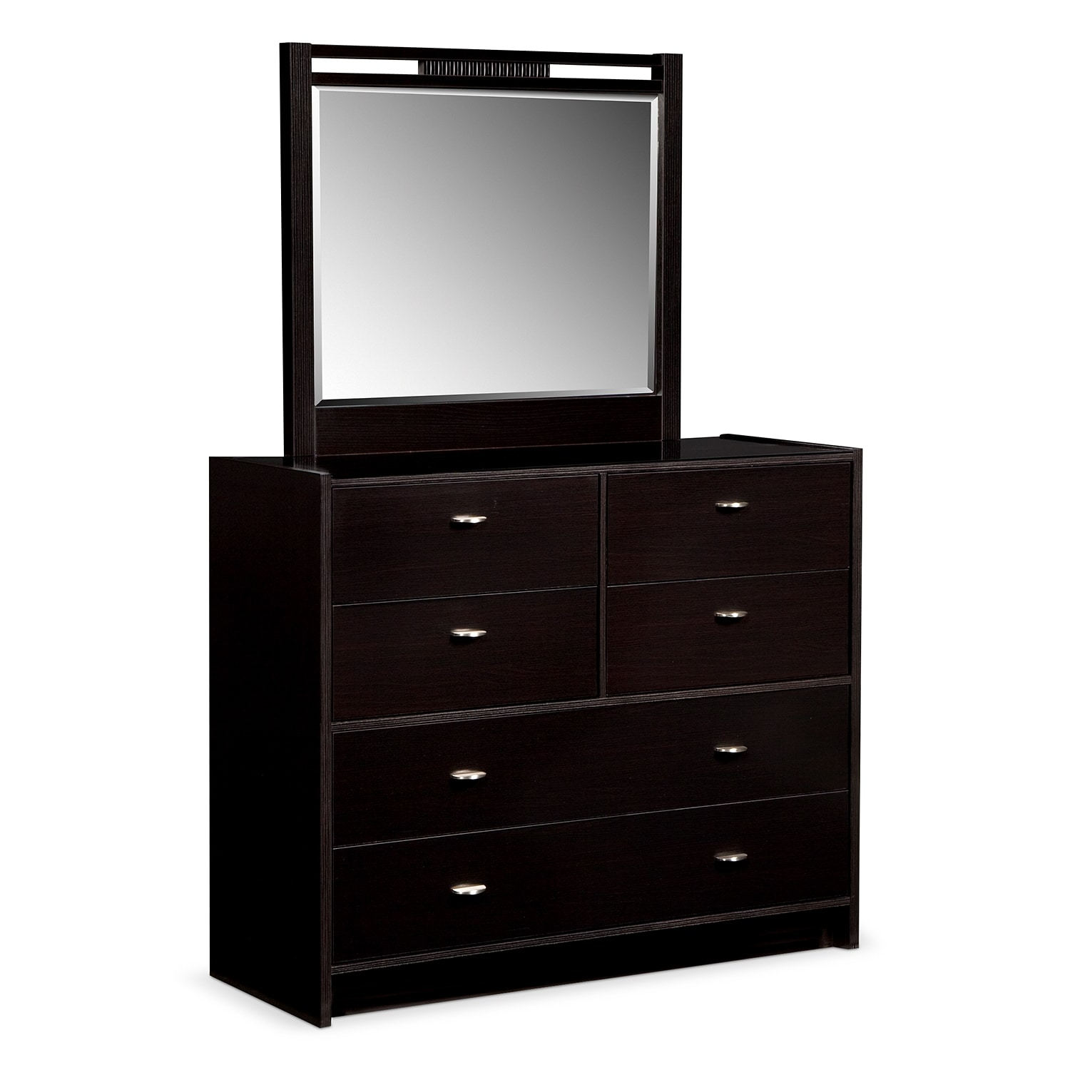 Bally Dresser and Mirror - Espresso