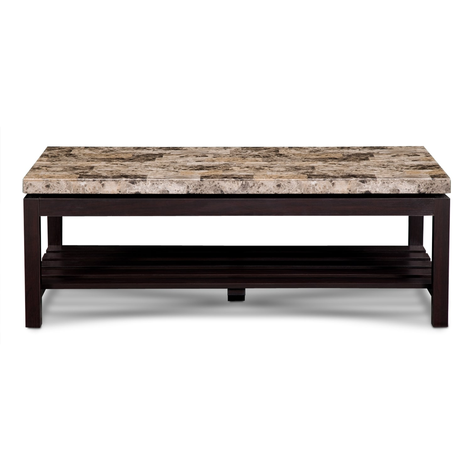 Audra Cocktail Table Merlot American Signature Furniture