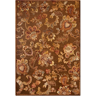 The Napa Meadow Collection - Medium Brown and Rust