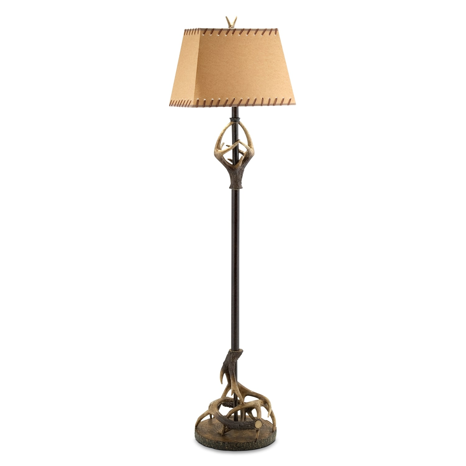 Home Accessories - Antlers Floor Lamp