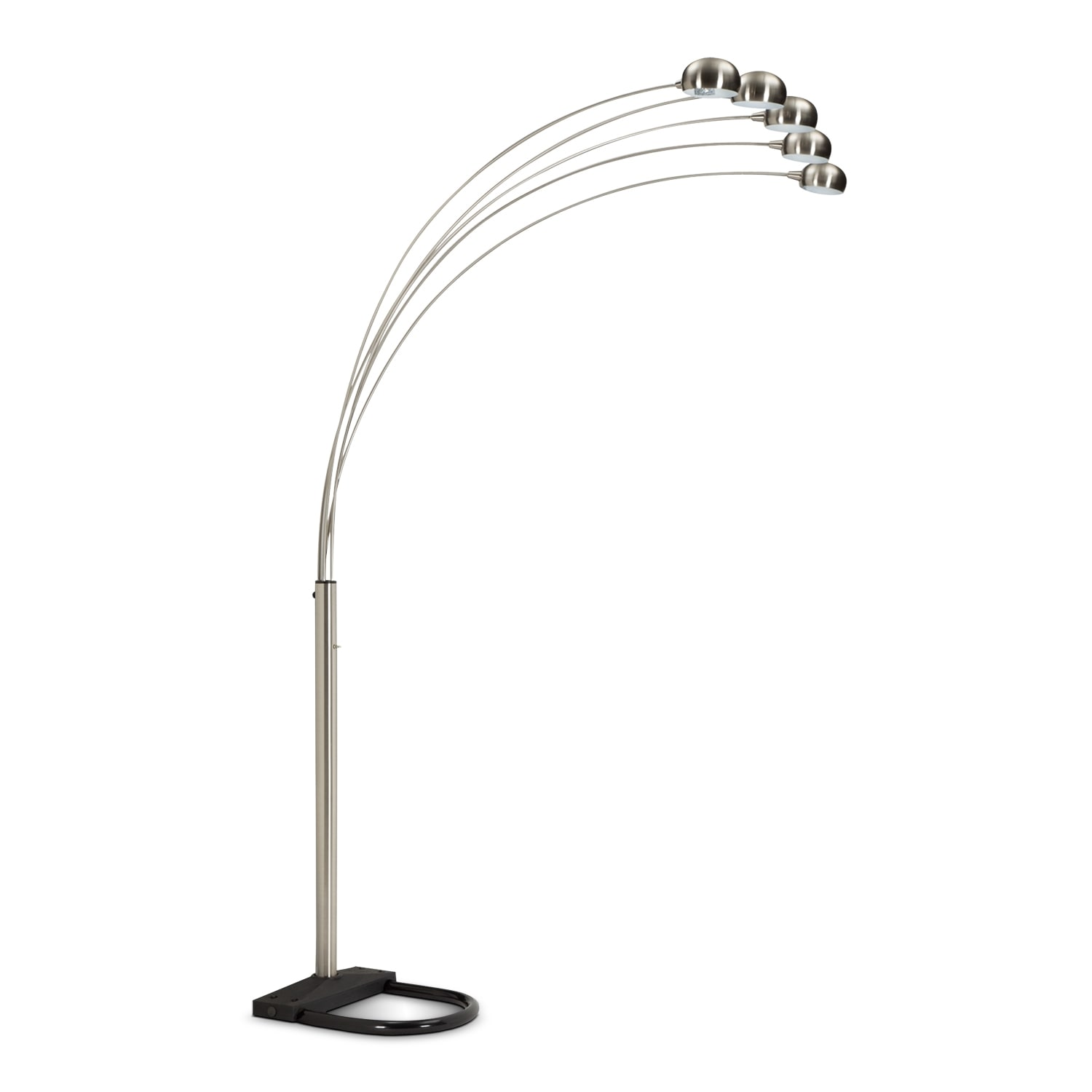 Chrome Arc Floor Lamp