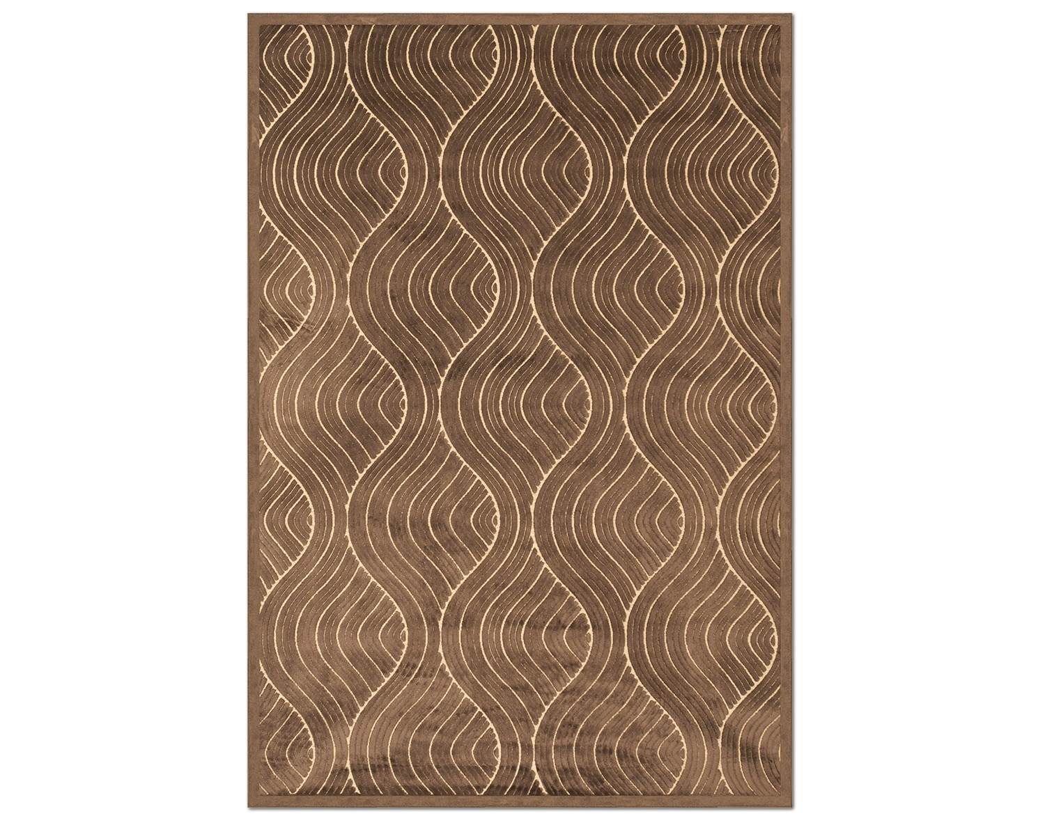 The Napa Bale Collection - Dark Brown and Beige