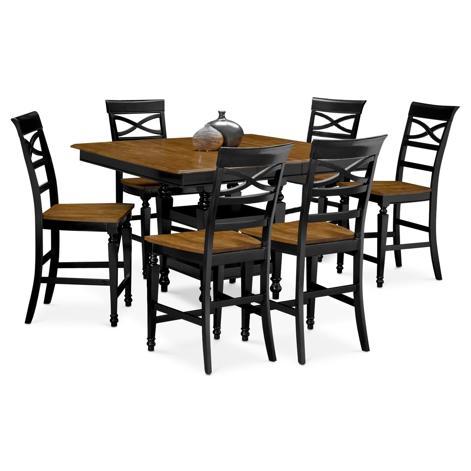 Chesapeake 7 Pc. Counter-Height Dining Room