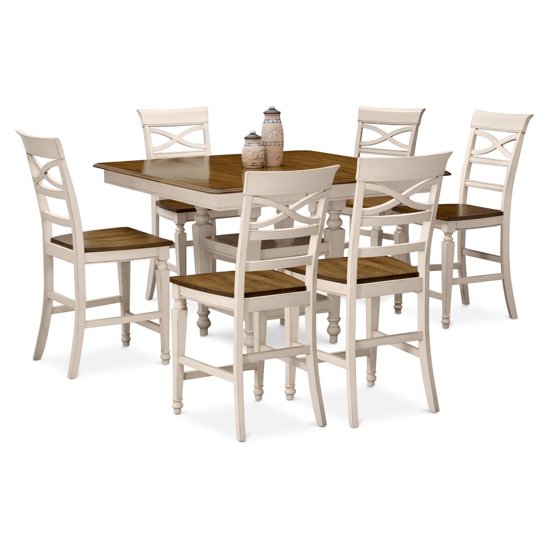 Chesapeake II 7 Pc. Counter-Height Dining Room