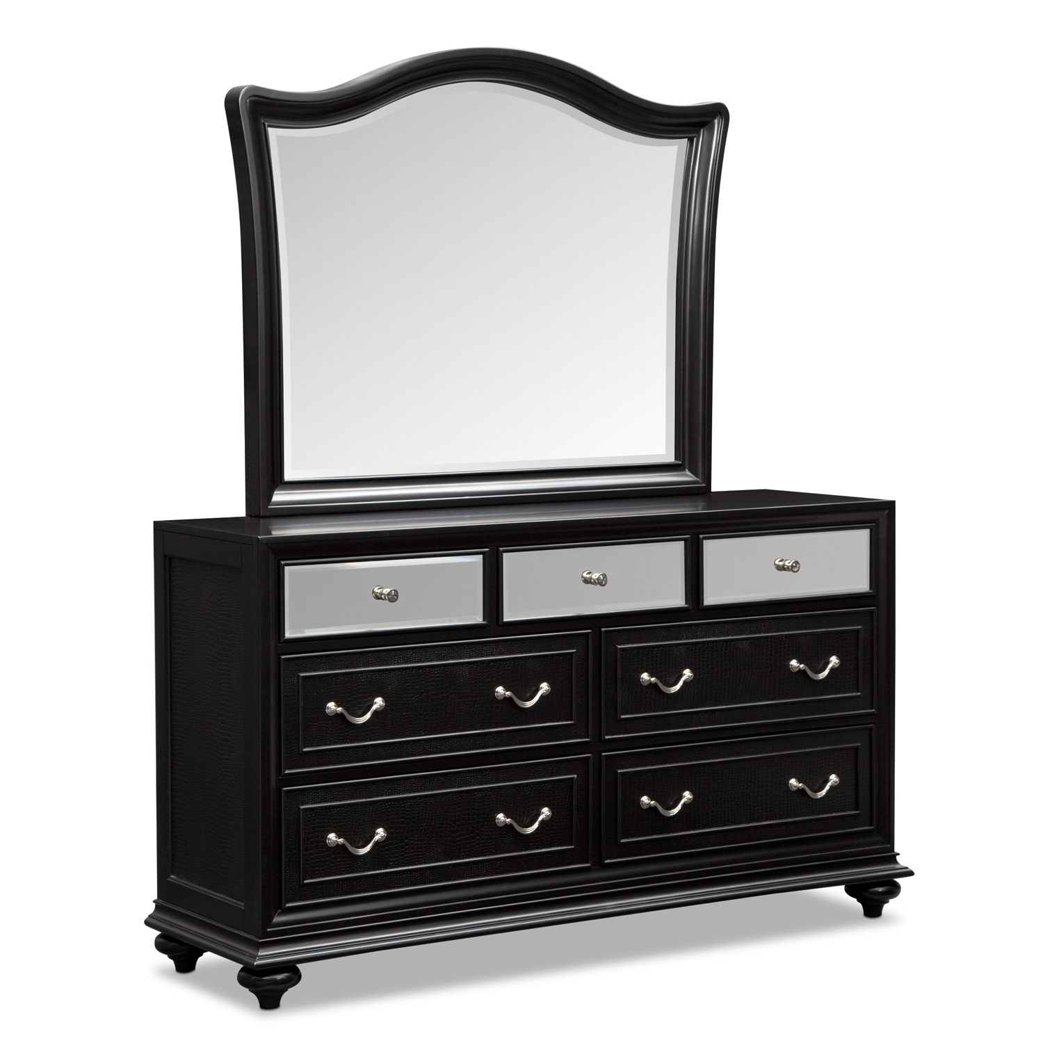 Marilyn Dresser and Mirror - Ebony