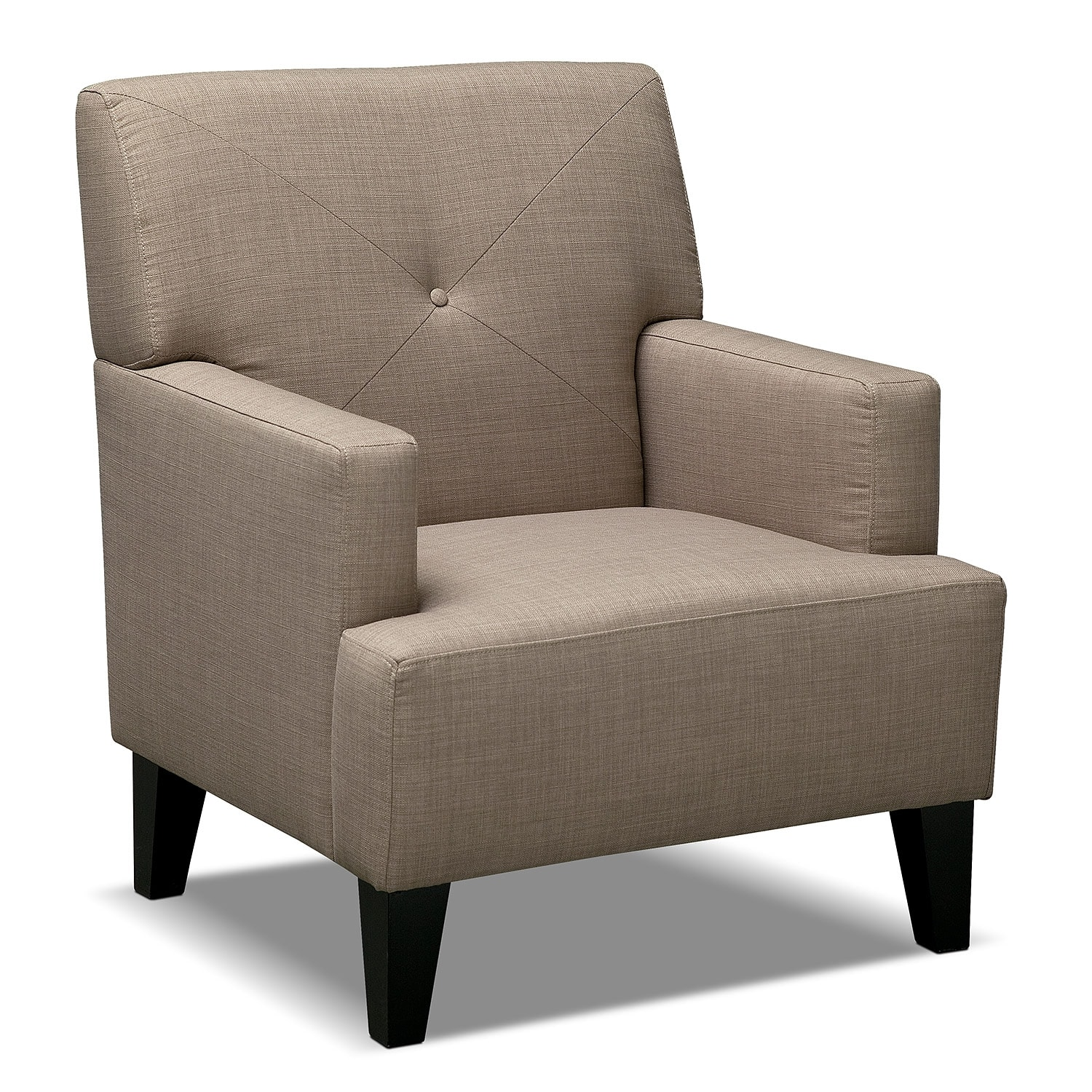 Avalon accent chair wheat american signature furniture for Signature furniture