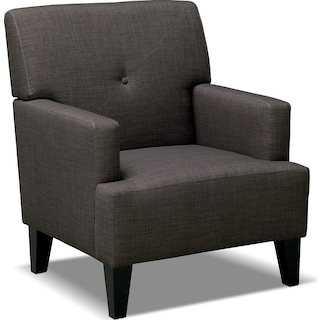 Avalon Accent Chair - Charcoal