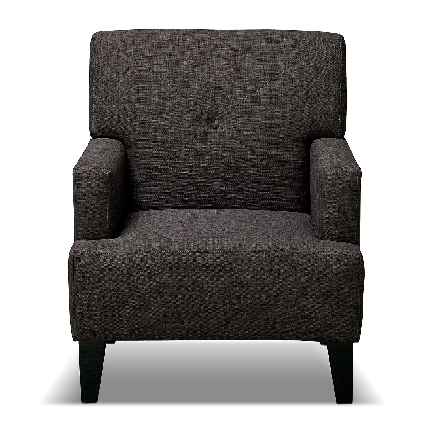 Avalon Accent Chair Charcoal American Signature Furniture