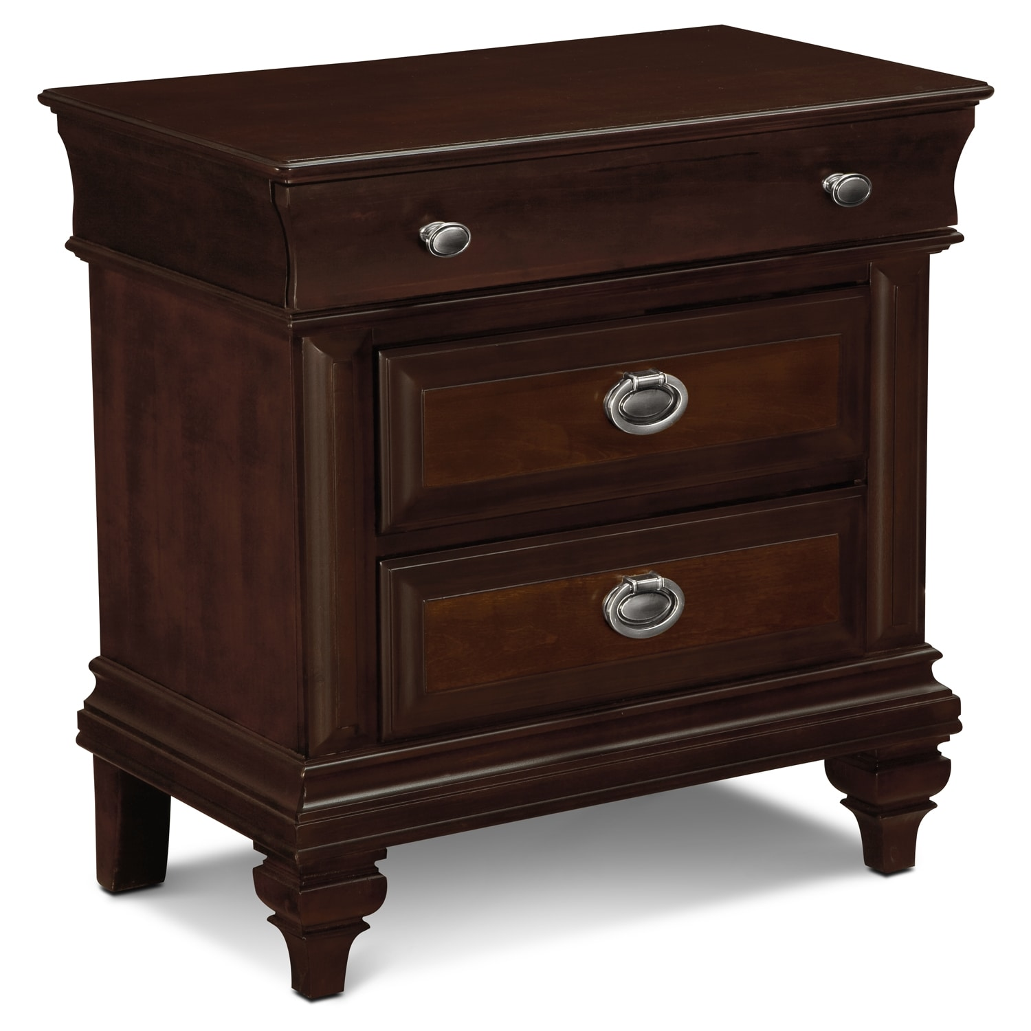 Manhattan Nightstand - Cherry