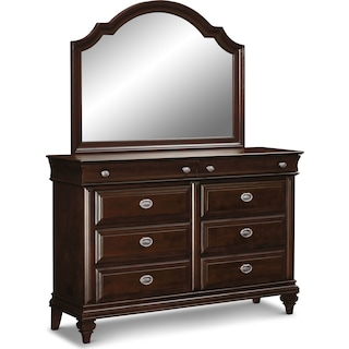 Manhattan Dresser and Mirror