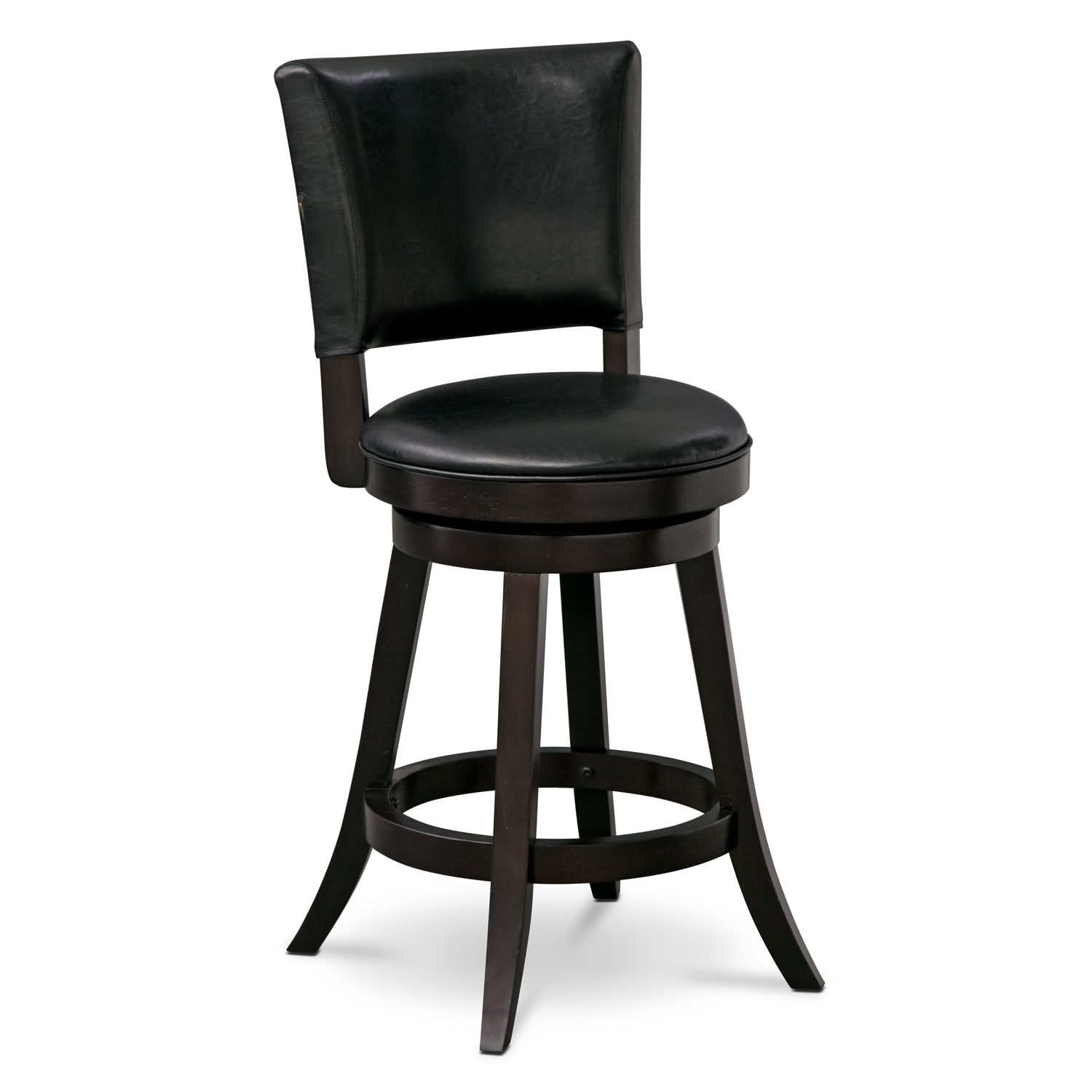 Dining Room Furniture - Easton Counter-Height Stool - Black